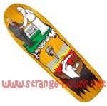 "Real Jim Thiebaud Wrench Justice Ltd. Ed. 9.75"" Deck - Yellow"