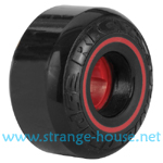 Ricta Speed Rings Wheels 52mm / 81b Black w/ Red Ring