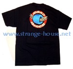 Road Rider Classic Winged Wheel Logo T-Shirt Black / Large