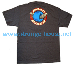 Road Rider Classic Winged Wheel Logo T-Shirt Gray / Large
