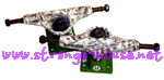 "Ruckus 4.7 ""Dollars"" Trucks / 7.25"" Axle Span / Pair"