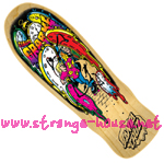 "Santa Cruz Claus Grabke Melting Clocks Re-Issue Natural9.7"" Deck"