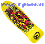 "Santa Cruz Jeff Kendall Graffiti 2013 ReIssue Yellow 9.69"" Deck"