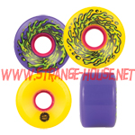 Santa Cruz Slimeballs 60mm / 78a Purple / Yellow Mash Up