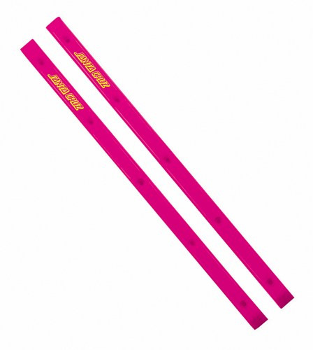 Santa Cruz Slimline Cellblock Rails - Pink - 14.5""