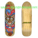 "Santa Cruz Steve ""Salba"" Alba Tiger Flash Pro 8.9"" Deck"