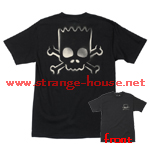 Santa Cruz Simpson's Bart Skull T-Shirt Black Large