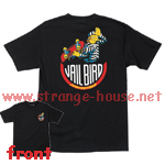 Santa Cruz Simpson's Jail Bird T-Shirt Black Large