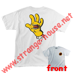 Santa Cruz Simpson's Screaming Hand T-Shirt White Large