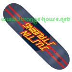 "Santa Cruz Justin Strubing Pro Dot Powerply 8.3"" Deck"