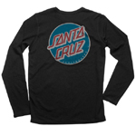 Santa Cruz Thermal LS Classic Dot Black XXL