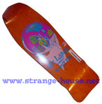 "Schmitt Stix Joe Lopes Crystal Ball 9.75"" Deck - Orange Stain NC"