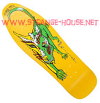 "Schmitt Stix Chris Miller Dog Re-Issue Mini Deck - 9.0"" Yellow"