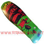 "Schmitt Stix Joe Lopes BBQ 10.0"" Deck - Green Dip w/ Red Art"