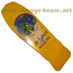 "Schmitt Stix Joe Lopes Crystal Ball Yellow Dip 9.75"" Deck"