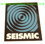 "Seismic Logo 2.75"" Sticker"