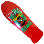 Sims Eric Nash Bandido Deck - Red