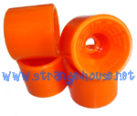 Sims Pure Juice 64mm / 90a Orange Wheels