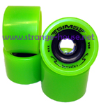 Sims Pythons 72mm / 80a Green Wheels