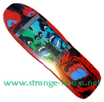 "Sims Screamer 2 Red 9.25"" Deck"