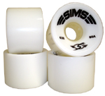 Sims Snakes Street Comp 63mm / 80a White Wheels