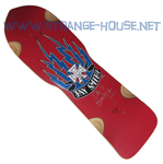 "Skaterbuilt Jay Smith Signed #39 / Red Formica 9.75"" x 32.25"""