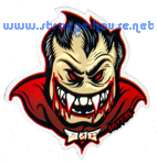 "Spitfire Monster Mash Bloodlust 6.25"" Sticker"