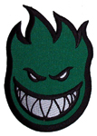 "Spitfire 6"" Fabric Patch Green"