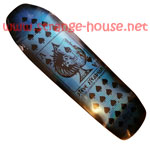 "Stedmz Ace of Spades Ltd. Ed. Blue Foil Signed 9.5"" Deck BLEMISH"