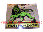 Steadham Industries Vintage Lion / Mirror Sticker from 1988!!!
