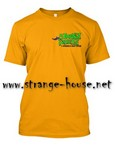 StrangeHouse 5 Wheels Out Club T-Shirt - Gold / Large