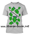StrangeHouse All Over T-Shirt Heather Gray / XL