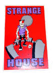 StrangeHouse FrankenZombie Full Color Vinyl Sticker