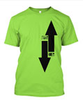 StrangeHouse Arrows T-Shirt - Lime / Large