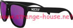 Nectar Wayfarer Polarized Epic Black / Purple Sunglasses