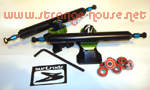 Surf-Rodz TKP Grinds Truck Kit 177mm / 8mm Fixed Axle