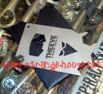 Theeve Titanium Keycard Skate Tool with Leather Sleeve