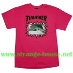 Thrasher Jay Adams Limited Edition T-Shirt from 2014 / Pink MD