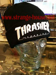Thrasher Embroidered Logo Beanie Black / White