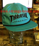 Thrasher Rope Snap Back Logo LTD Cap - Teal / Black