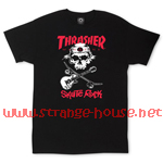 Thrasher Magazine Skate Rock T-Shirt / Black / Large