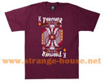 Thrasher Magazine King of Diamonds Limited T-Shirt / Maroon / MD