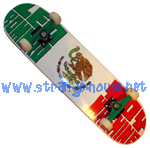 "Toy Machine Leo Romero Flag Custom Complete 8.0"" Deck"