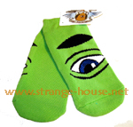 Toy Machine Sect Ankle Socks / 1 Pair / Green