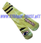Toy Machine Sect III Socks / 1 Pair / Lime Green