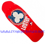 "Tracker Lester Kasai Oak Leaf Re-Issue 10.5"" Deck - Red"
