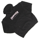 Tracker Gnarly Hoodie Black Large