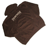 Tracker Gnarly Hoodie Brown Large