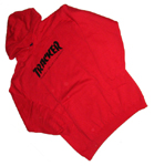 Tracker Gnarly Hoodie Red Large