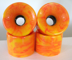 Tunnel Tarantula STR Racing Wheels 70mm / 78a Orange/Yellow